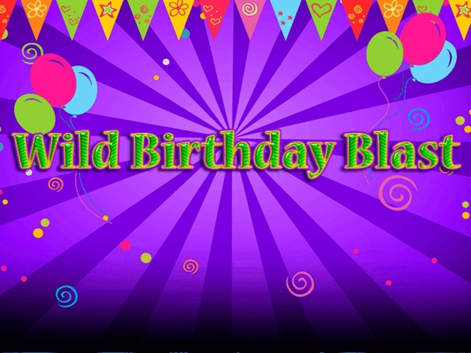 The Wild Birthday Blast Online Slot Demo Game by 2 By 2 Gaming