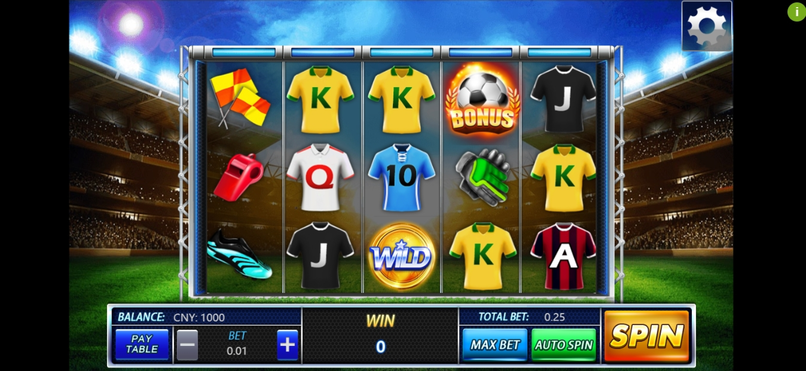 Win Money in Football Frenzy (Aiwin Games) Free Slot Game by Aiwin Games