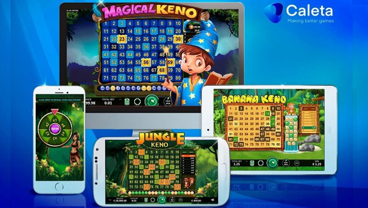 The Banana Keno Online Slot Demo Game by Caleta Gaming