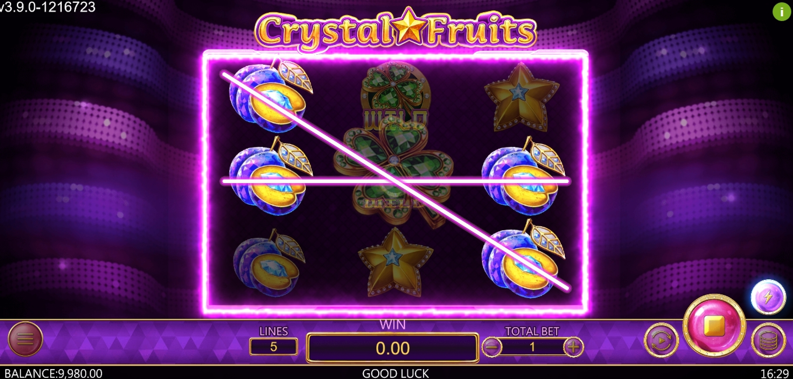 Win Money in Crystal Fruits (Dragoon Soft) Free Slot Game by Dragoon Soft