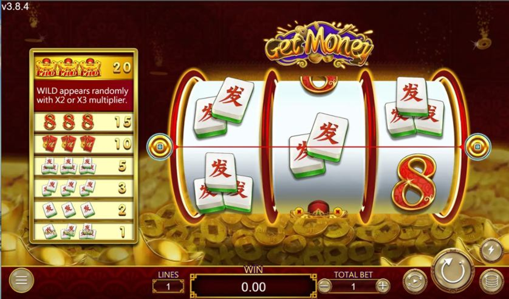 The Get Money Online Slot Demo Game by Dragoon Soft