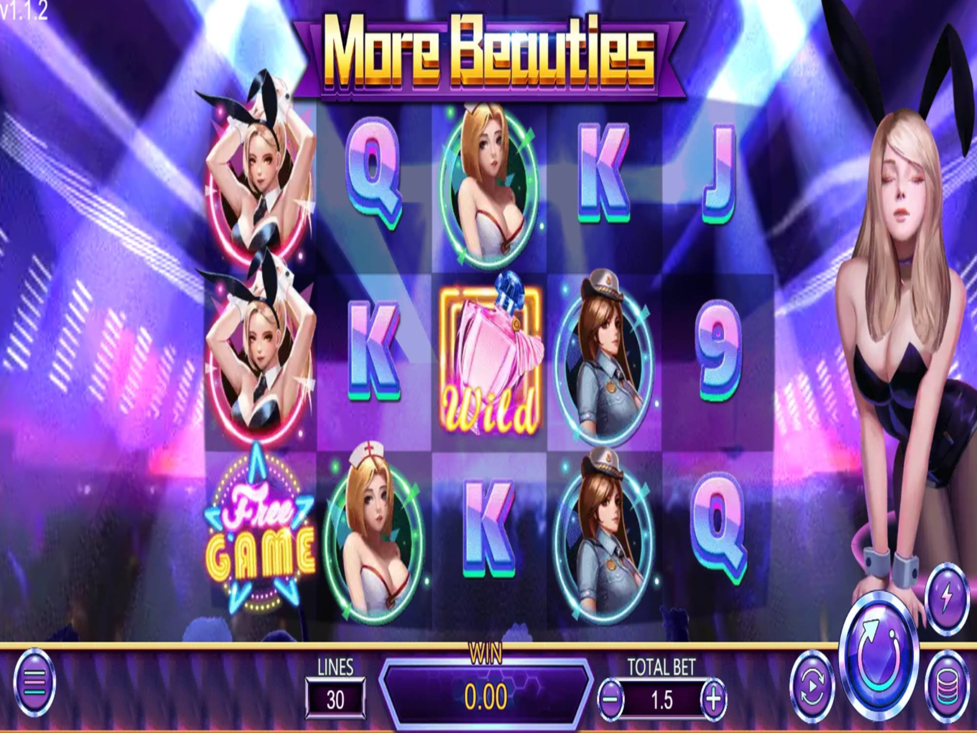 The More Beauties Online Slot Demo Game by Dragoon Soft
