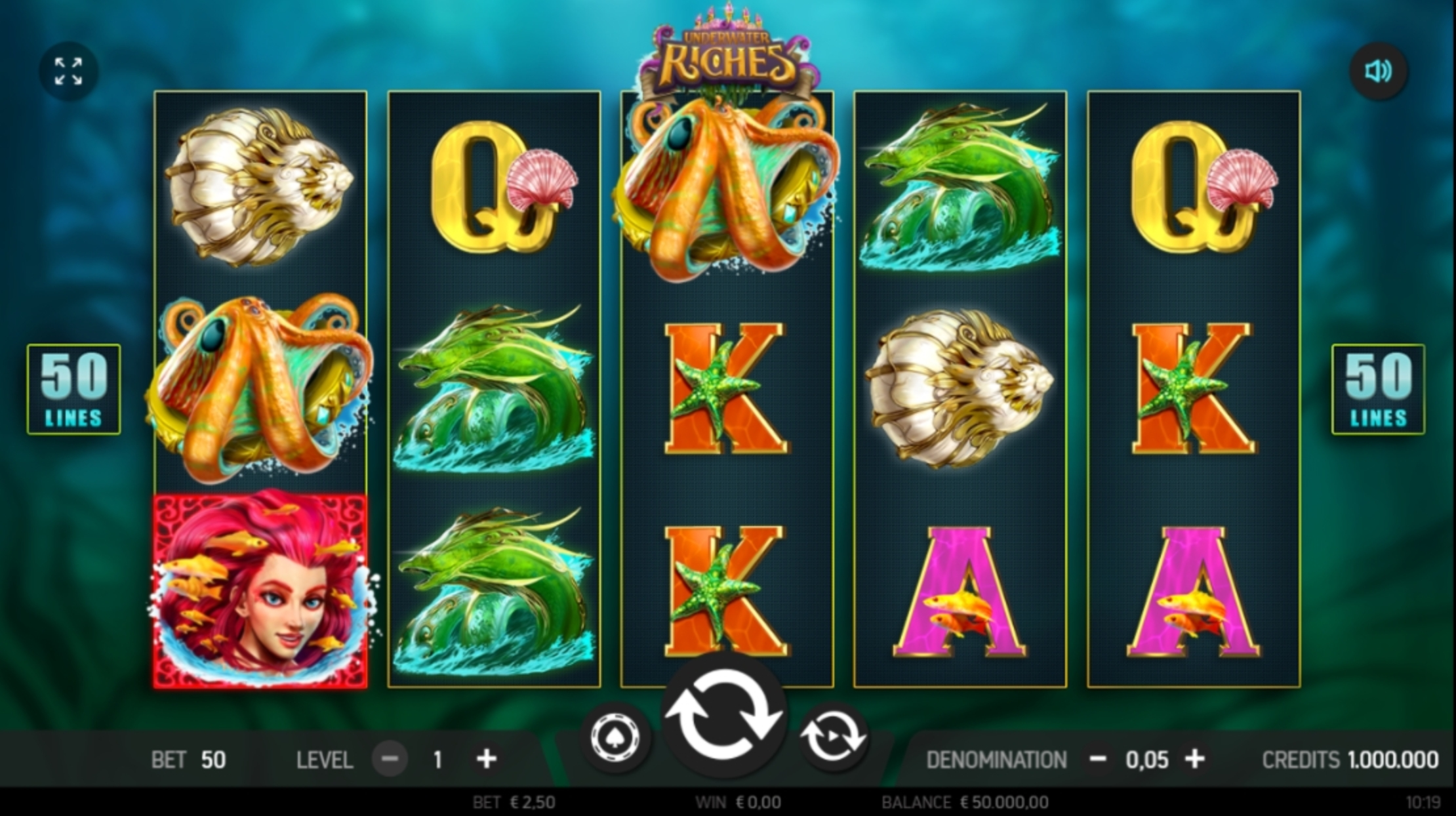 Reels in Underwater Riches Slot Game by FBM