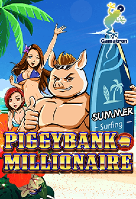 The Piggy Bank Millionaire Online Slot Demo Game by Gamatron