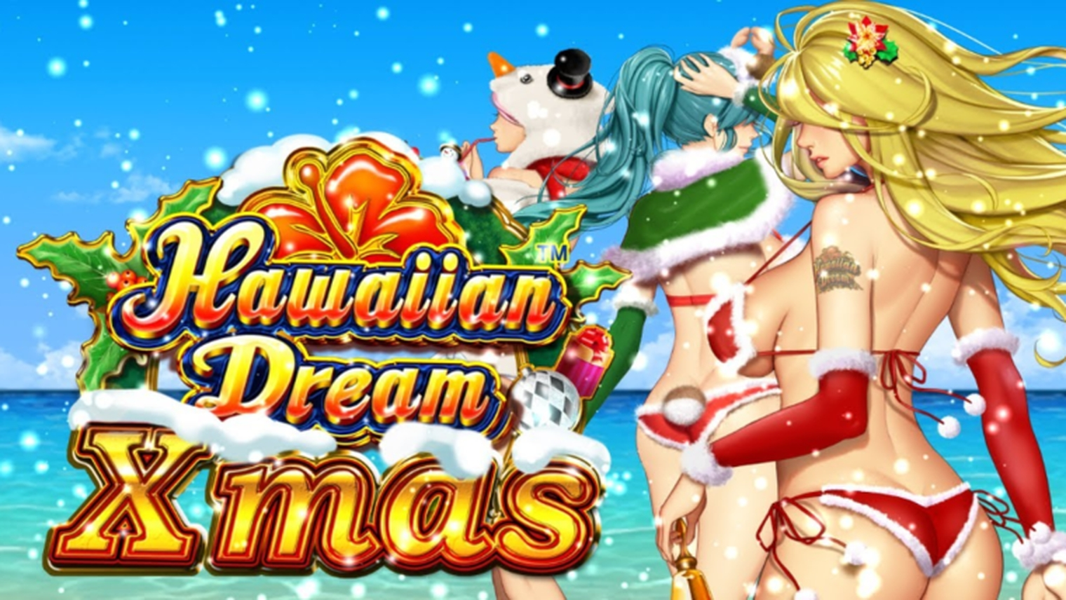 The Hawaiian Dream Xmas Online Slot Demo Game by JTG