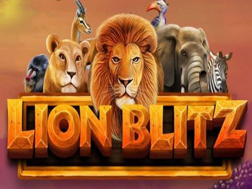 The Lion Blitz Online Slot Demo Game by Mighty Finger