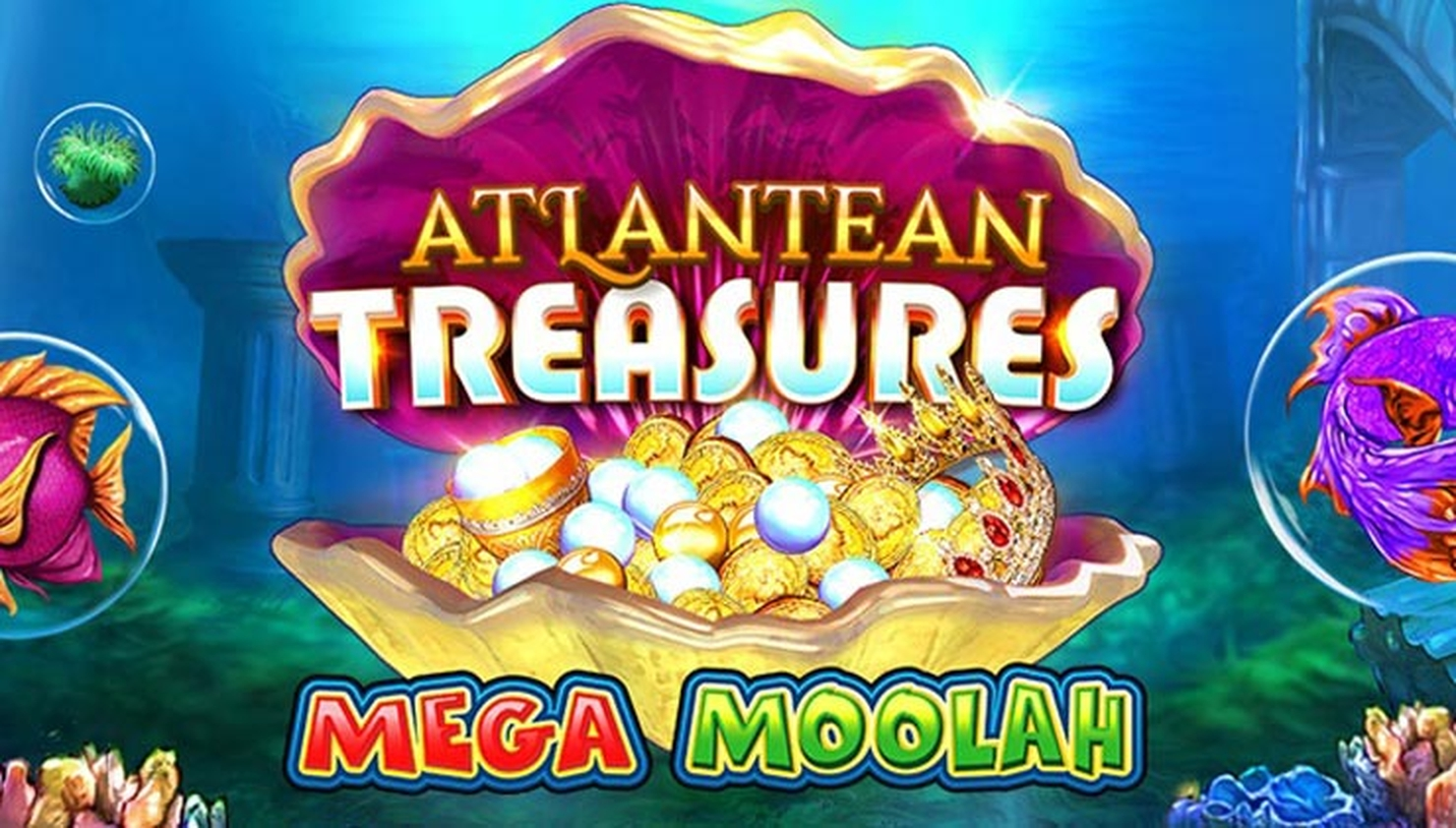 The Atlantean Treasures Mega Moolah Online Slot Demo Game by Neon Valley Studios