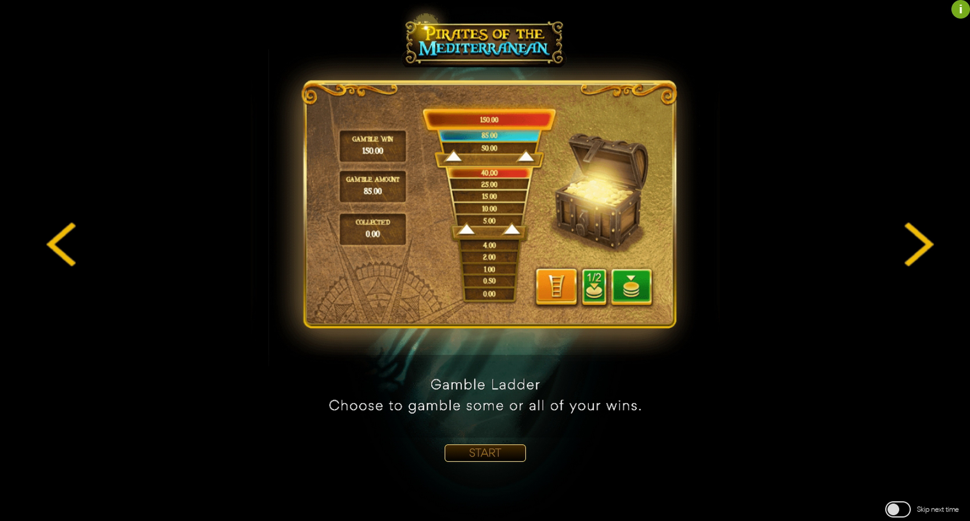 Play Pirates Of The Mediterranean Free Casino Slot Game by Spearhead Studios