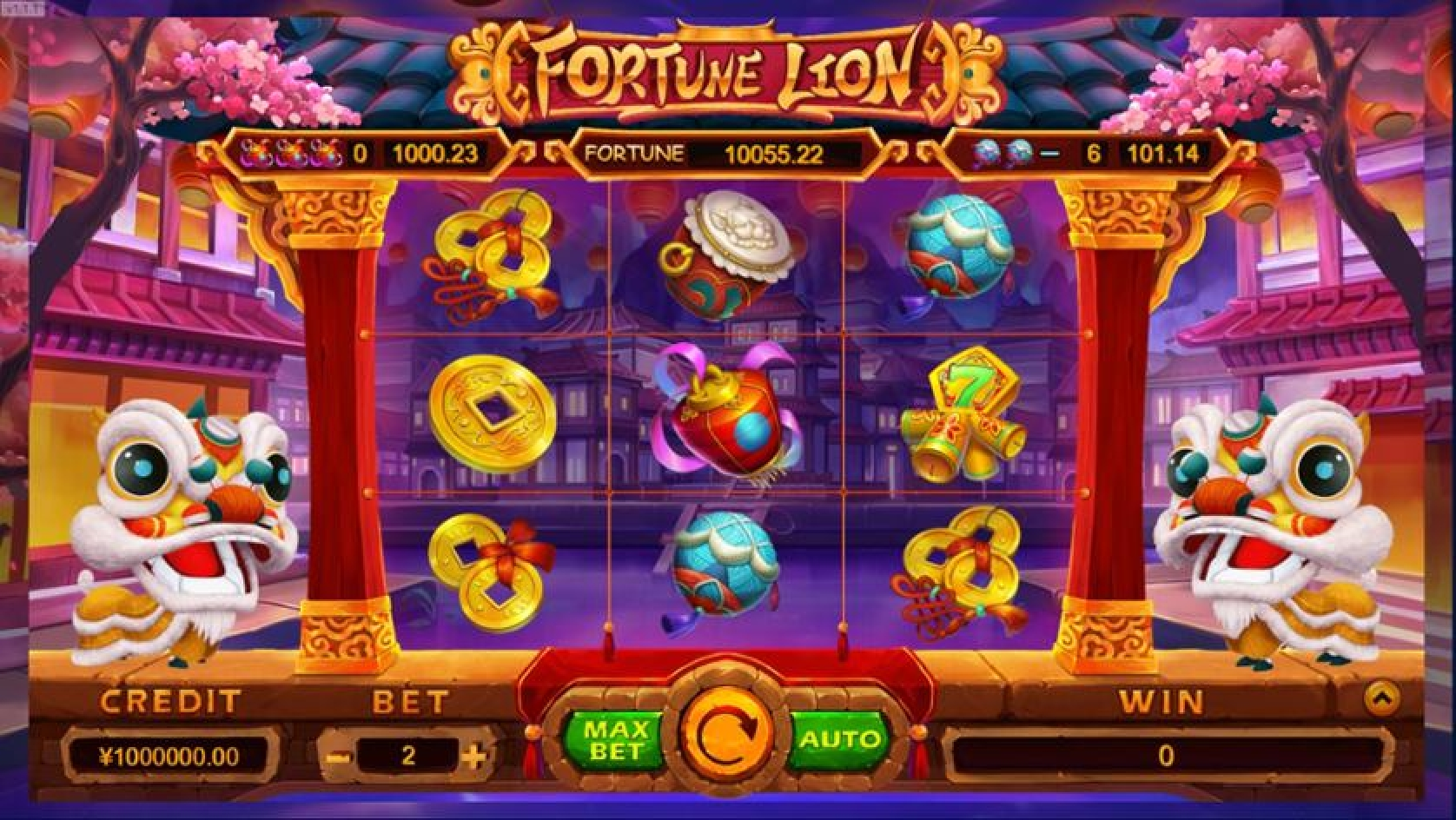 The Fortune Lion (TIDY) Online Slot Demo Game by TIDY