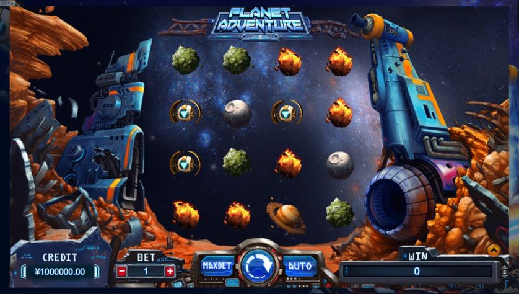 The Planet Adventure Online Slot Demo Game by TIDY