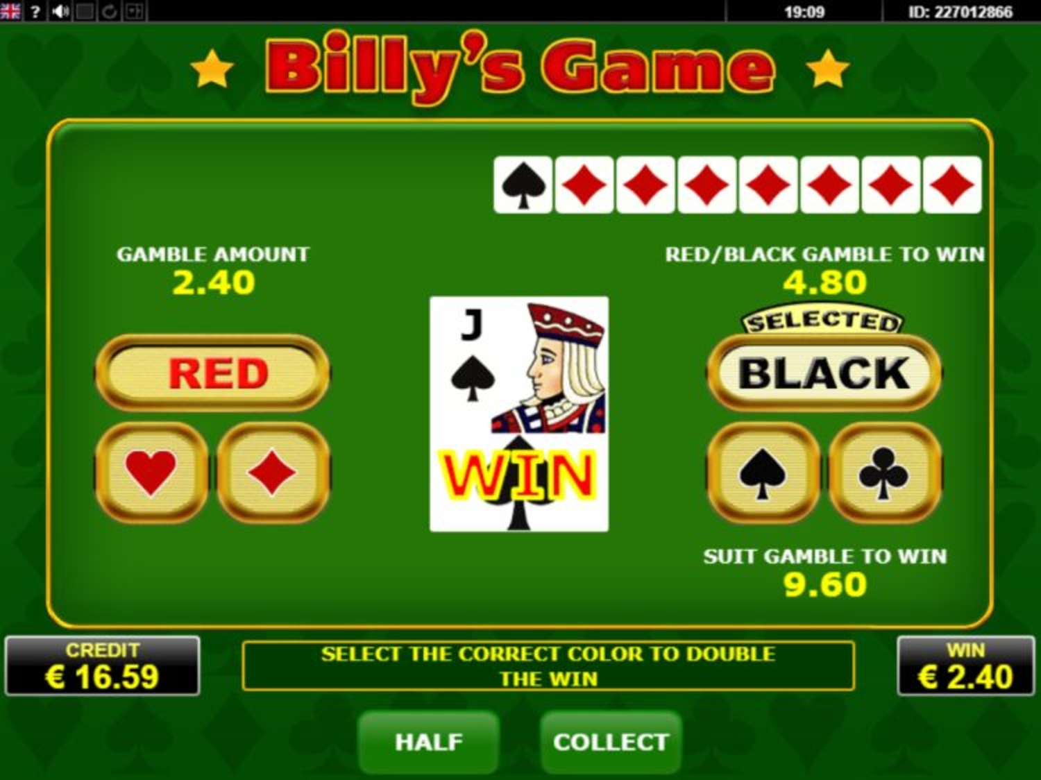 The Billys Game Online Slot Demo Game by Amatic Industries