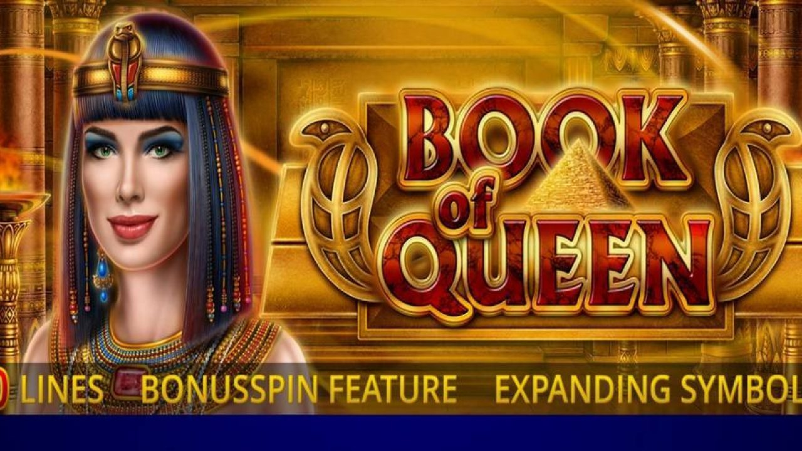 The Book of Queen Online Slot Demo Game by Amatic Industries