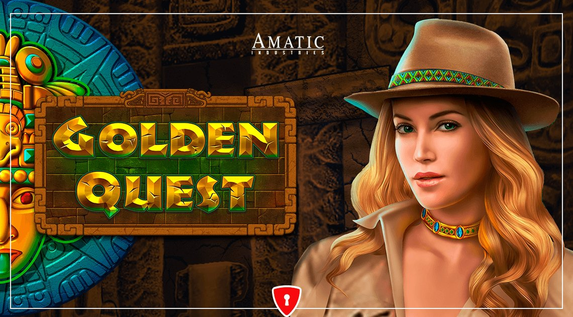 The Golden Quest Online Slot Demo Game by Amatic Industries
