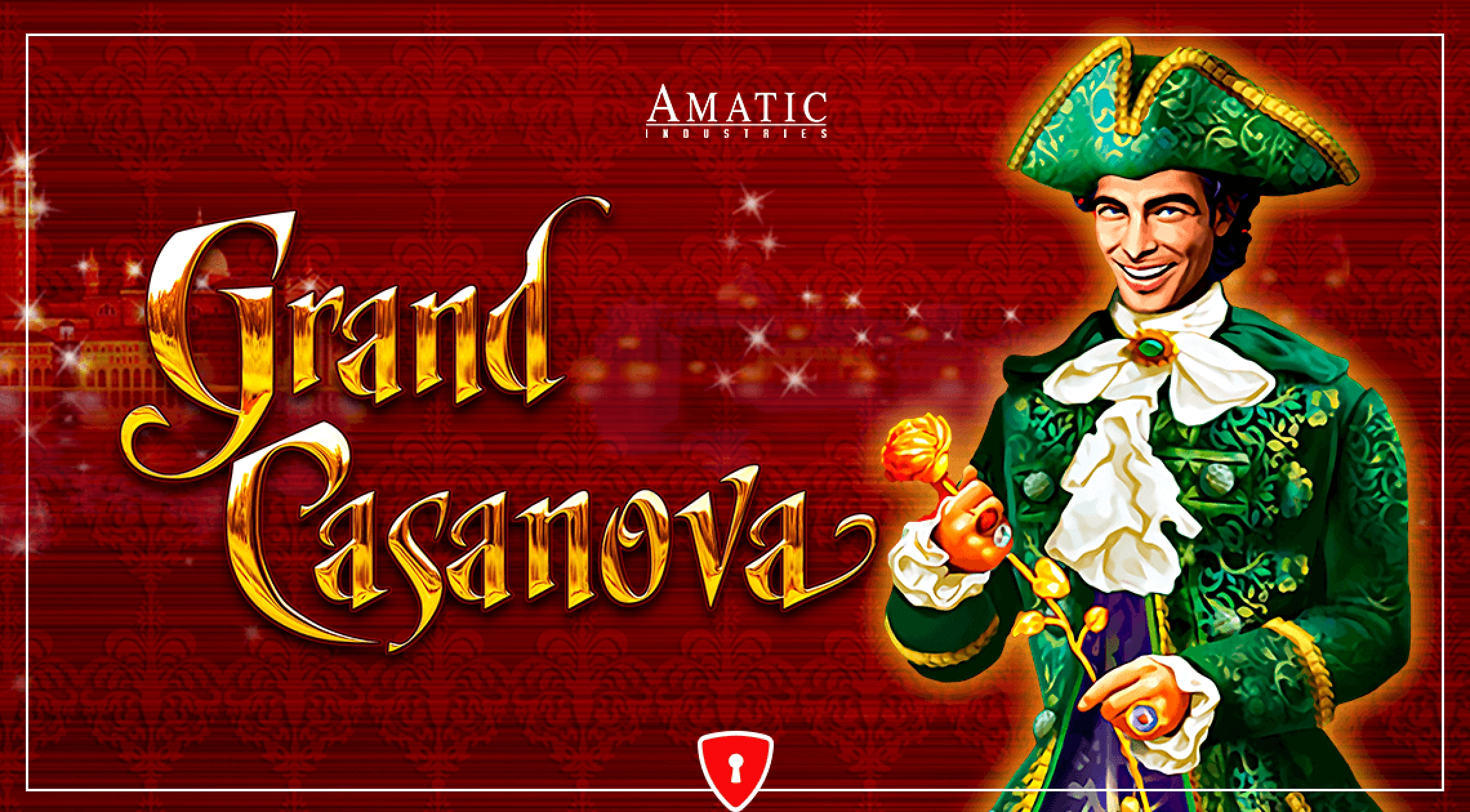 The Grand Casanova Online Slot Demo Game by Amatic Industries