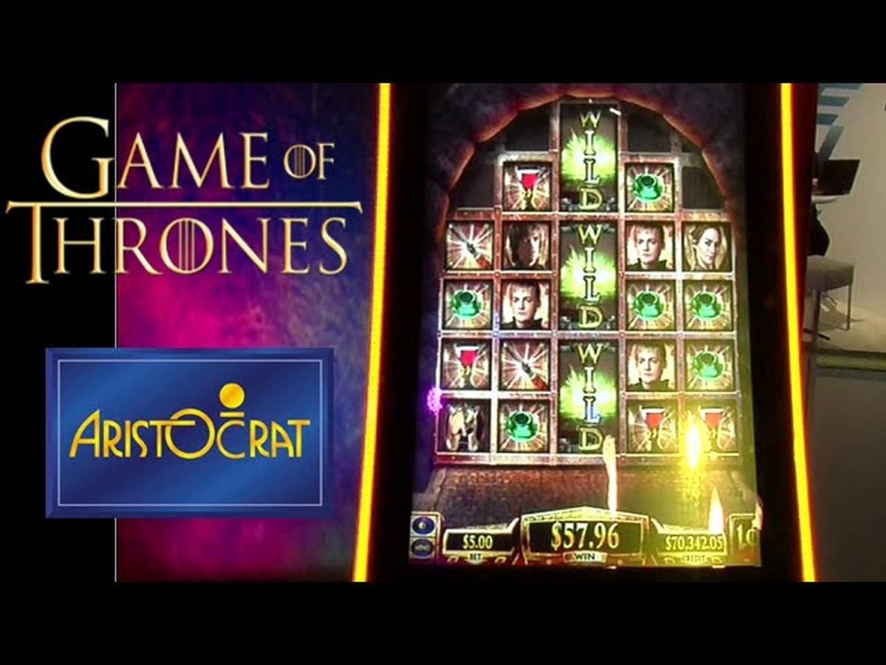 The Game of Thrones (Aristocrat) Online Slot Demo Game by Aristocrat