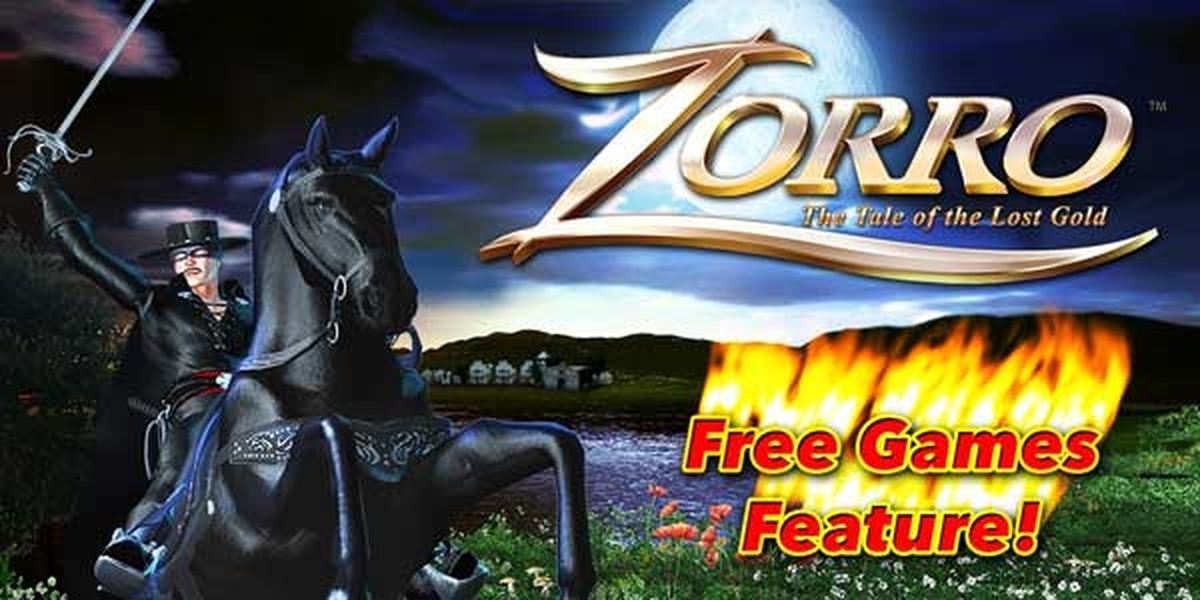 The Zorro: The Tale of the Lost Gold Online Slot Demo Game by Aristocrat