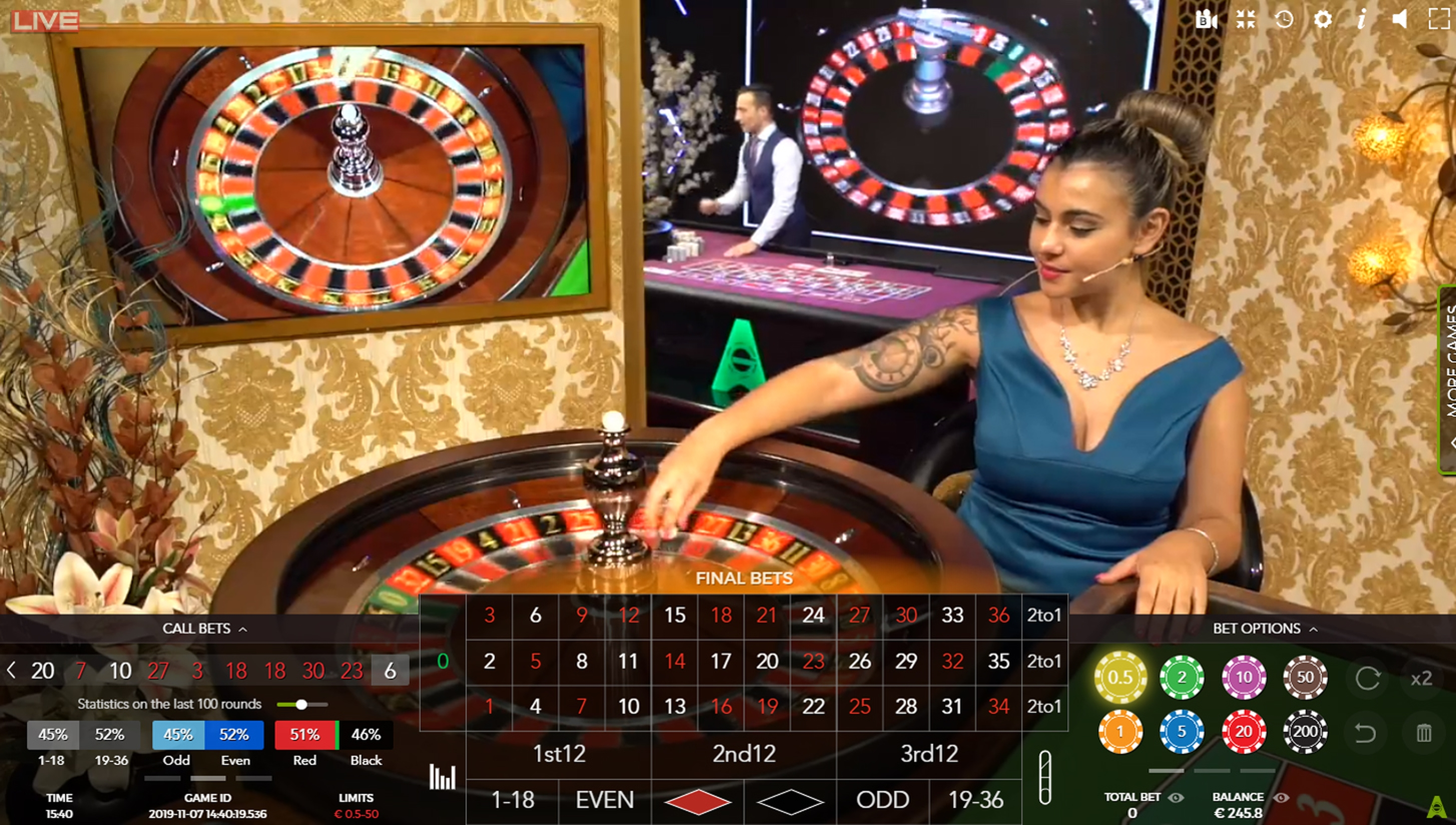 The Casino Floor Studio Online Slot Demo Game by Authentic Gaming