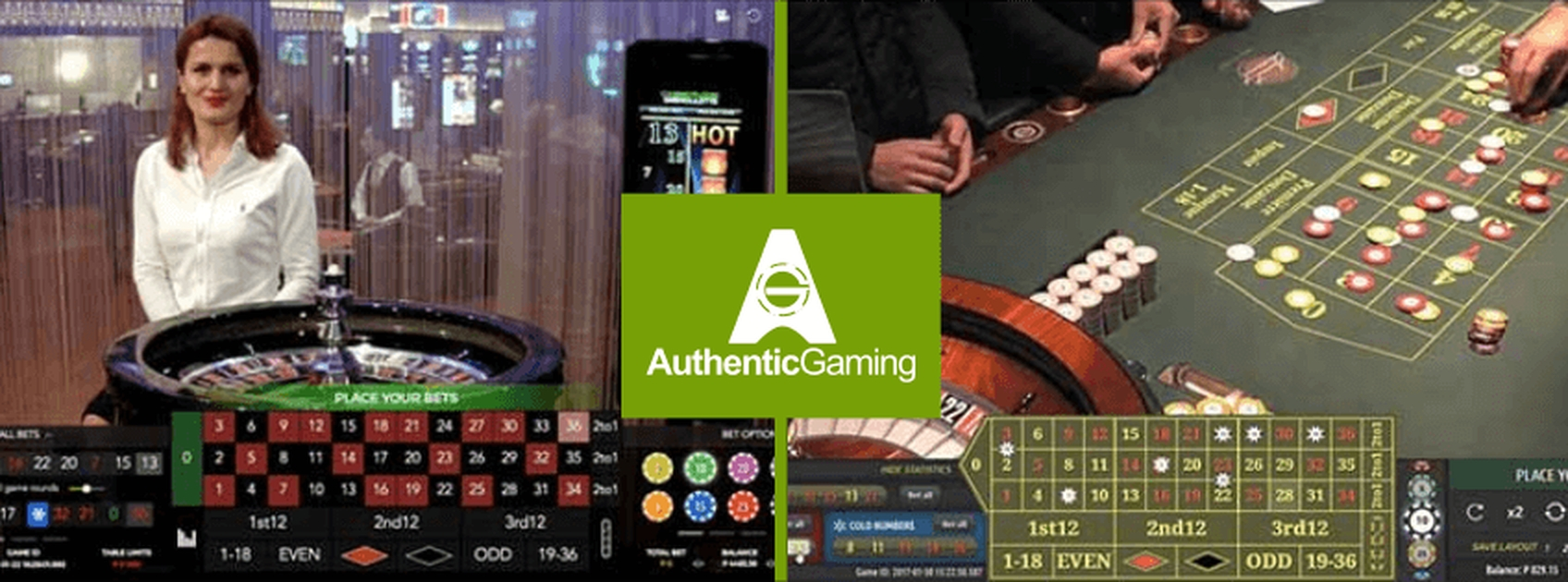 The Live Roulette DUO Saint Vincent Online Slot Demo Game by Authentic Gaming