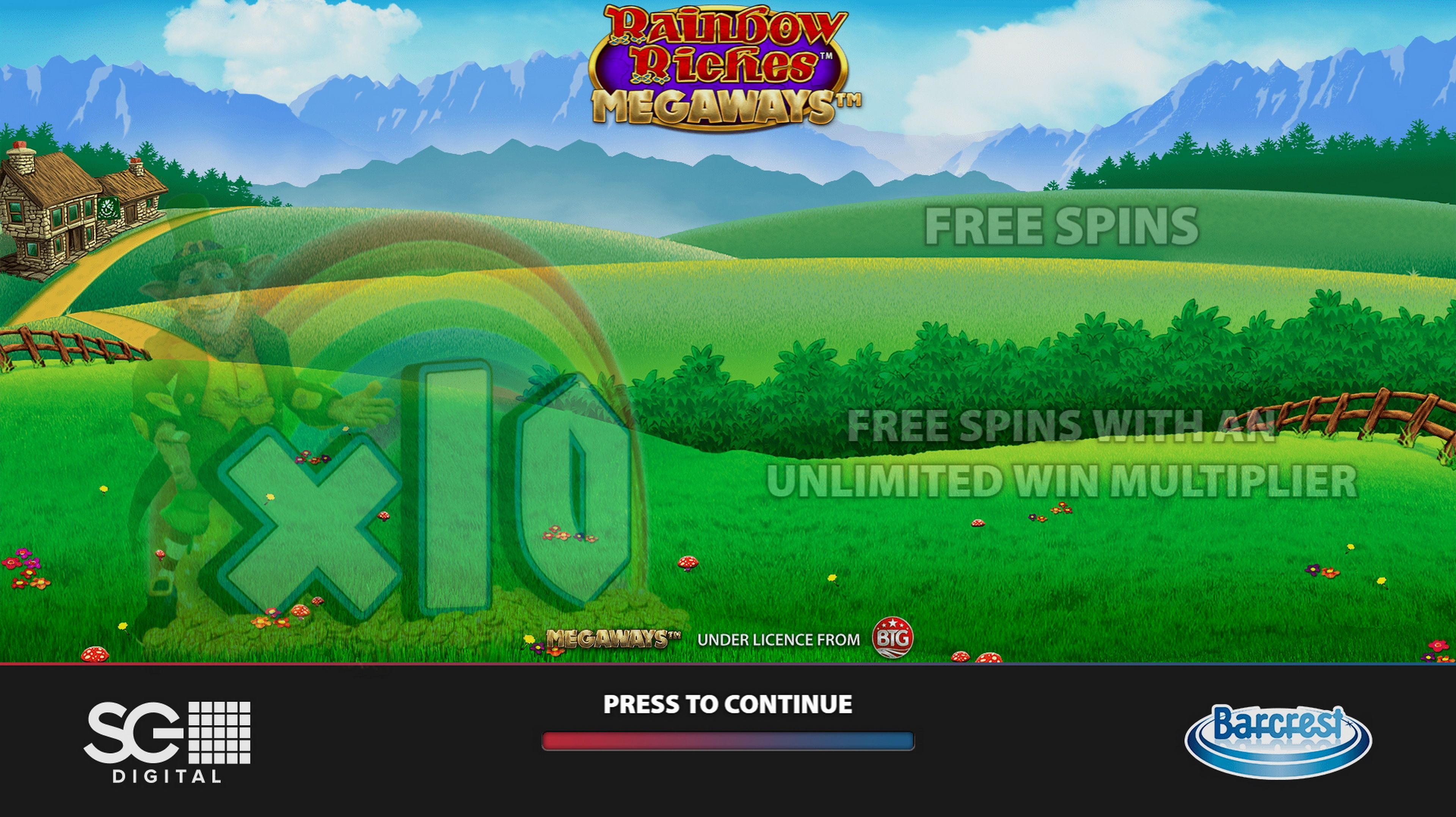 Play Rainbow Riches Megaways Free Casino Slot Game by Barcrest Games