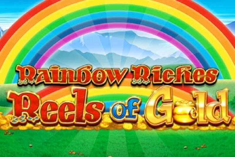 Reels in Rainbow Riches Reels of Gold Slot Game by Barcrest