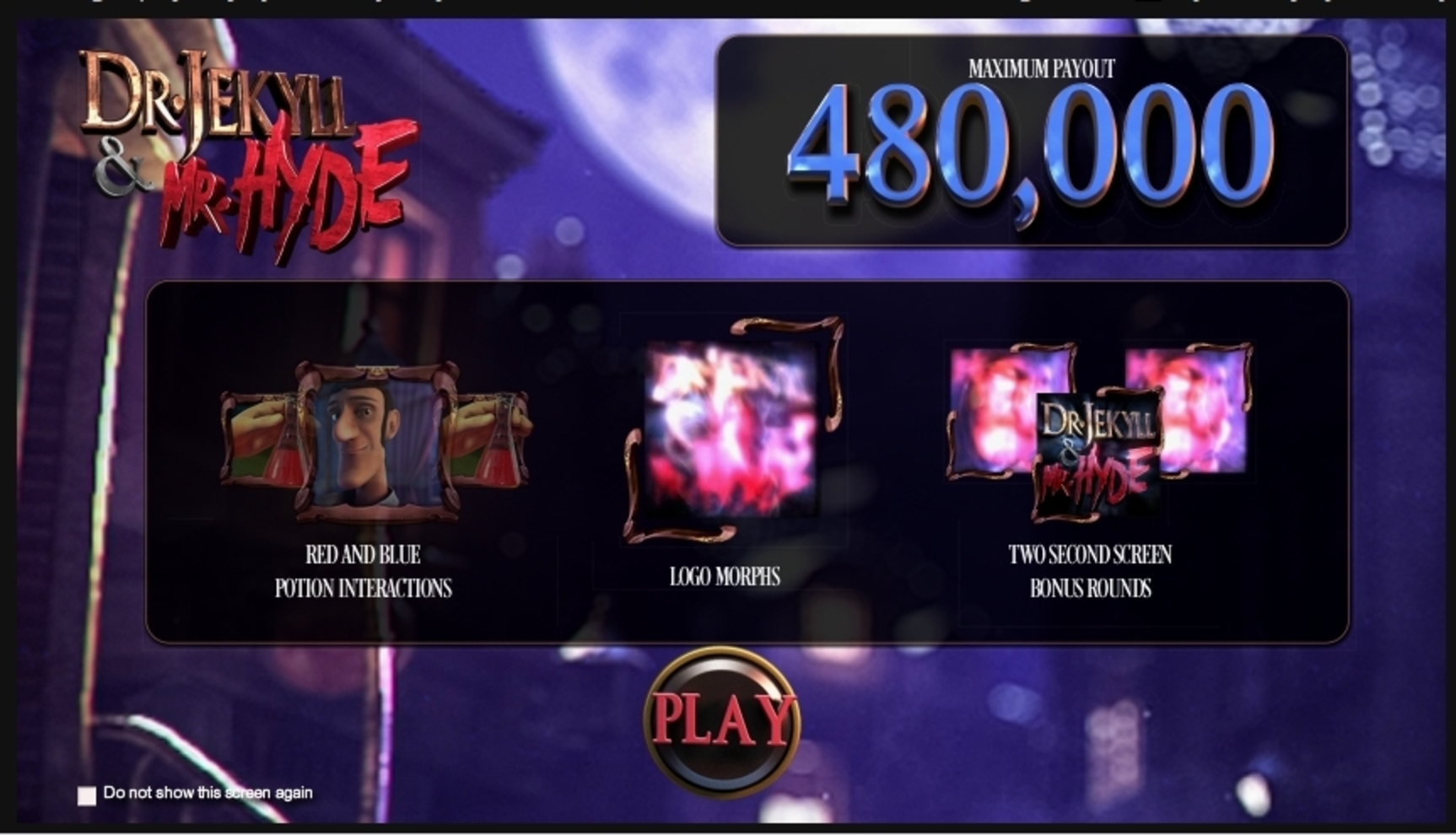 Play Dr. Jekyll & Mr. Hyde Free Casino Slot Game by Betsoft