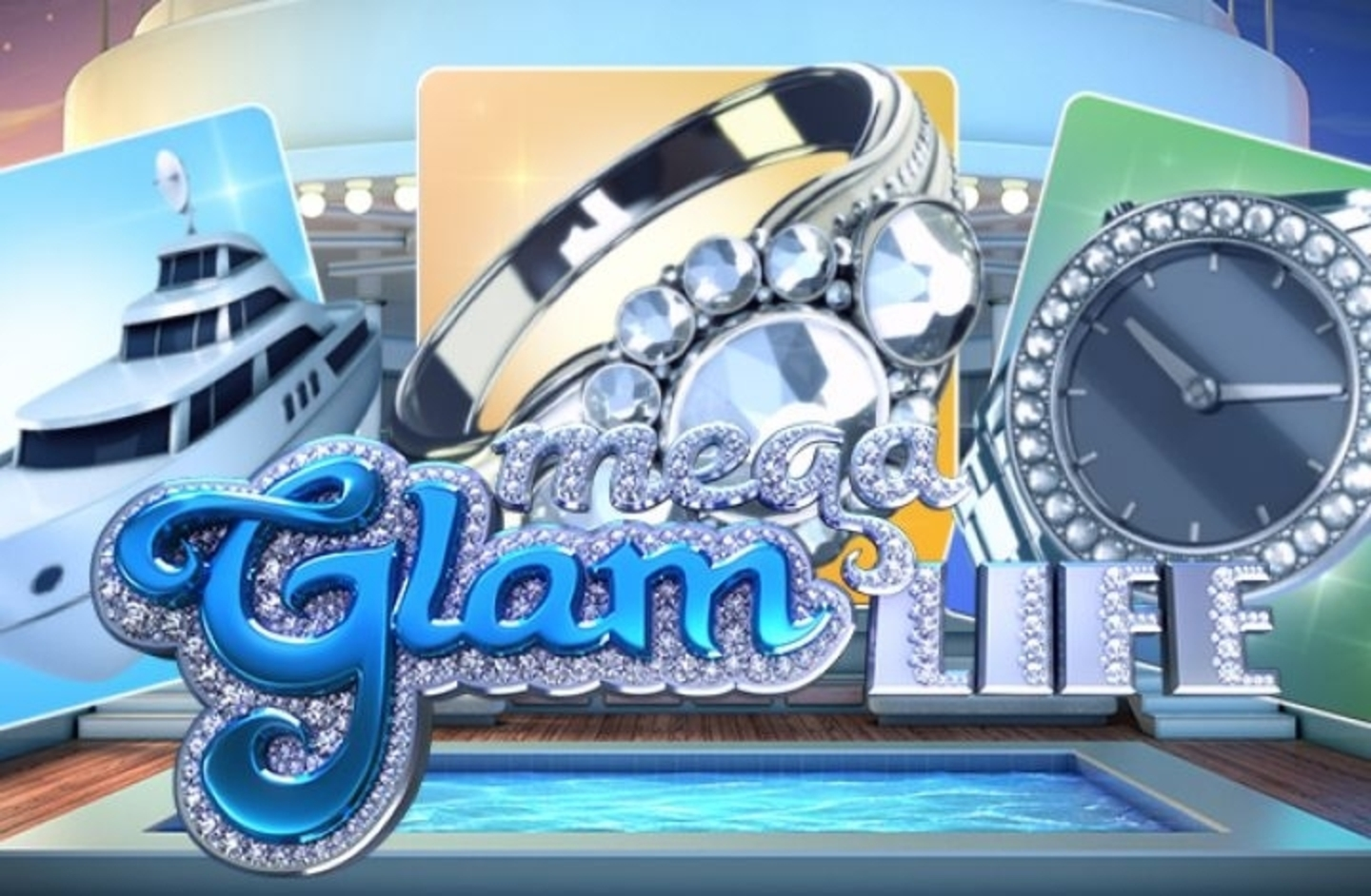 The Mega Glam Life Online Slot Demo Game by Betsoft