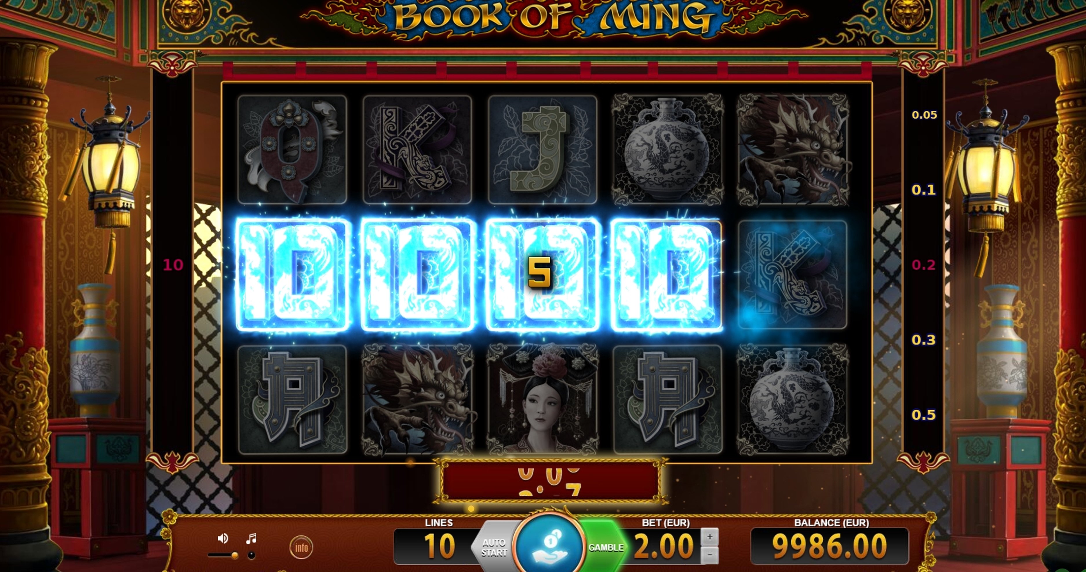 Win Money in Book of Ming Free Slot Game by BF games