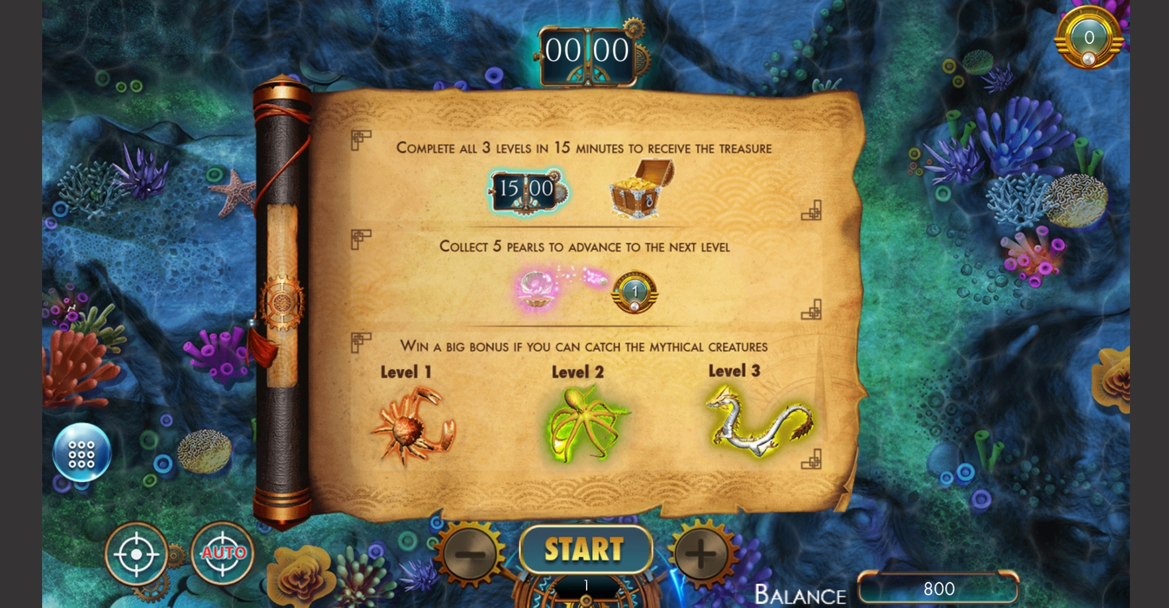 Info of Sea Raider Slot Game by Bunfox Games