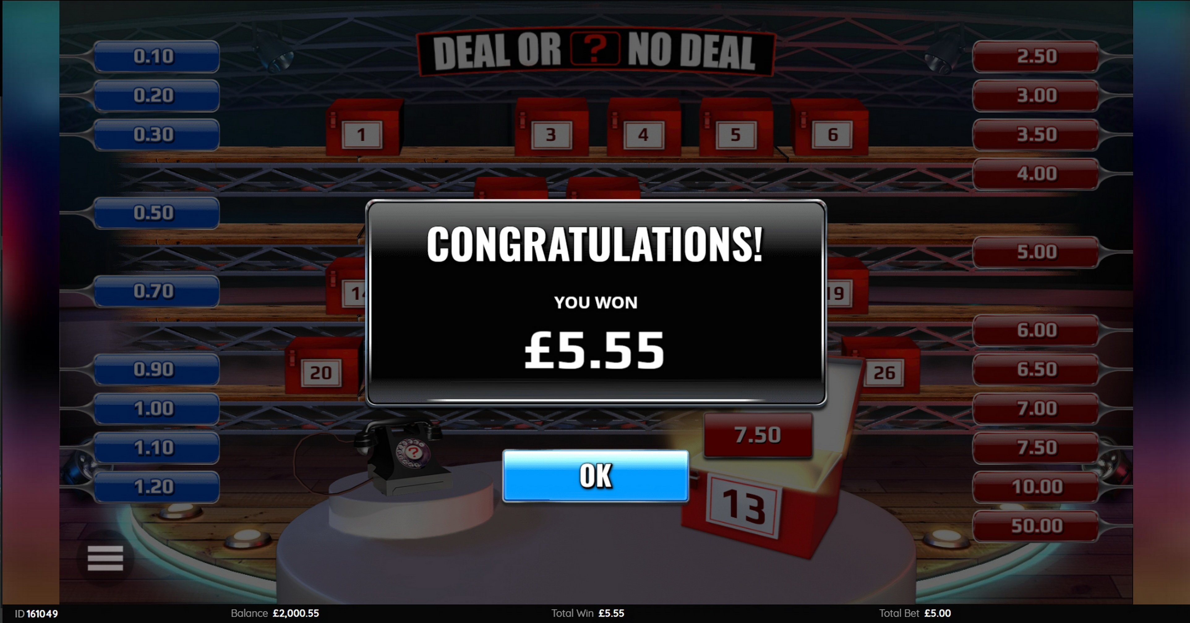 Win Money in Deal Or No Deal (Endemol Games) Free Slot Game by Endemol Games