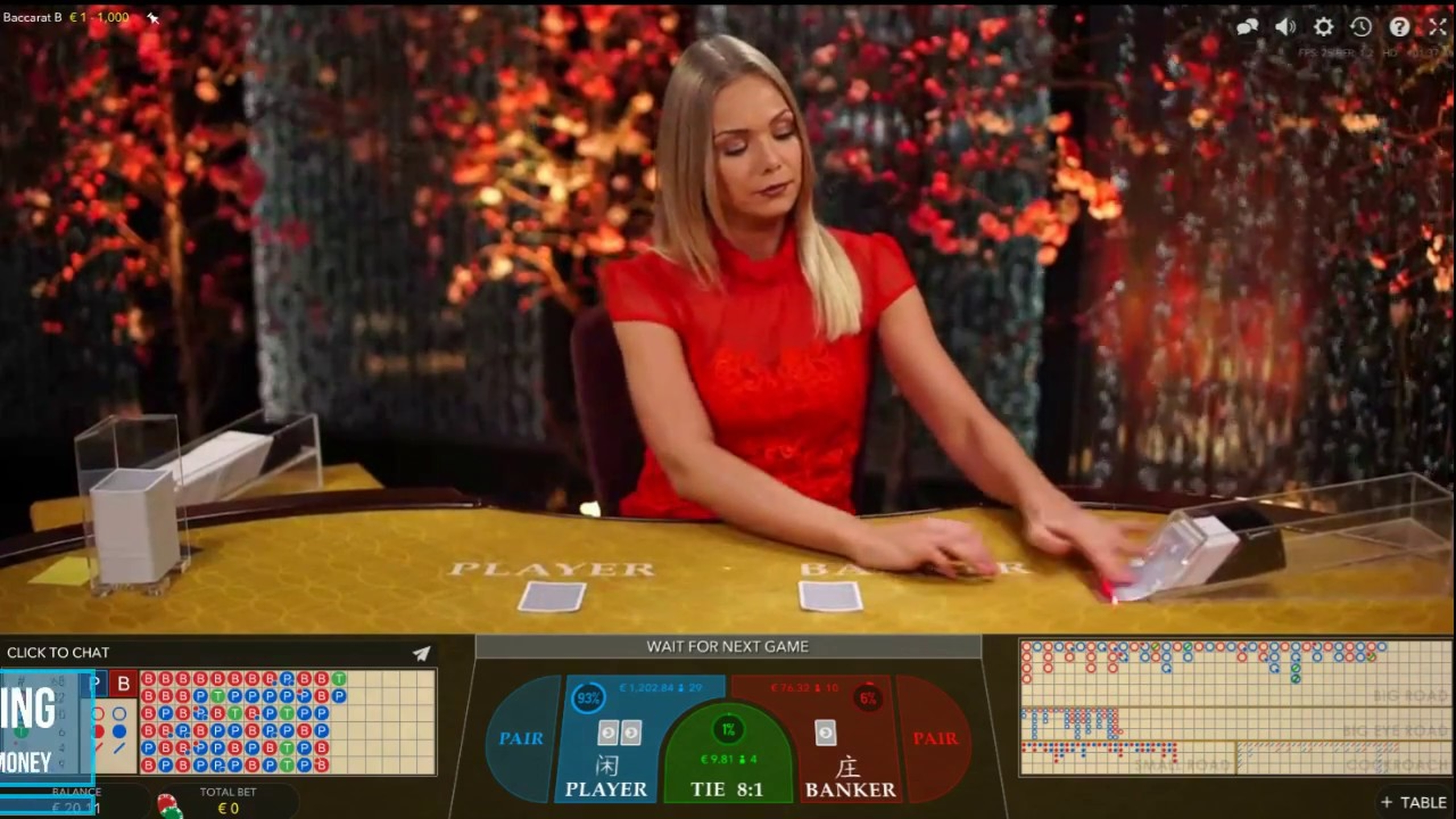 The Baccarat A Online Slot Demo Game by Evolution Gaming