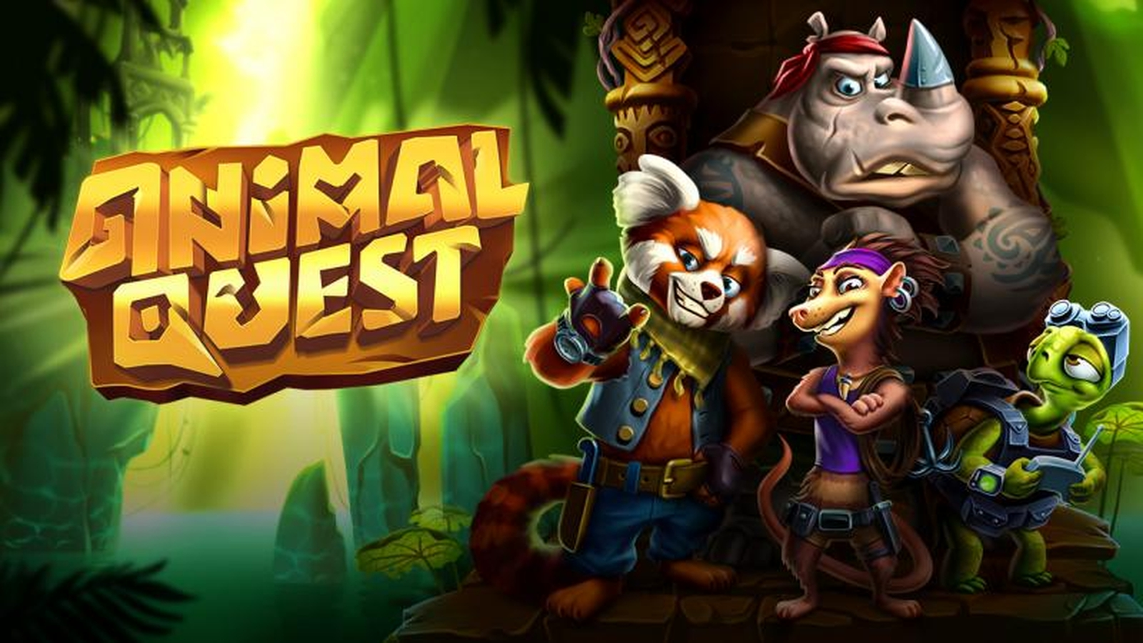 The Animal Quest Online Slot Demo Game by Evoplay Entertainment