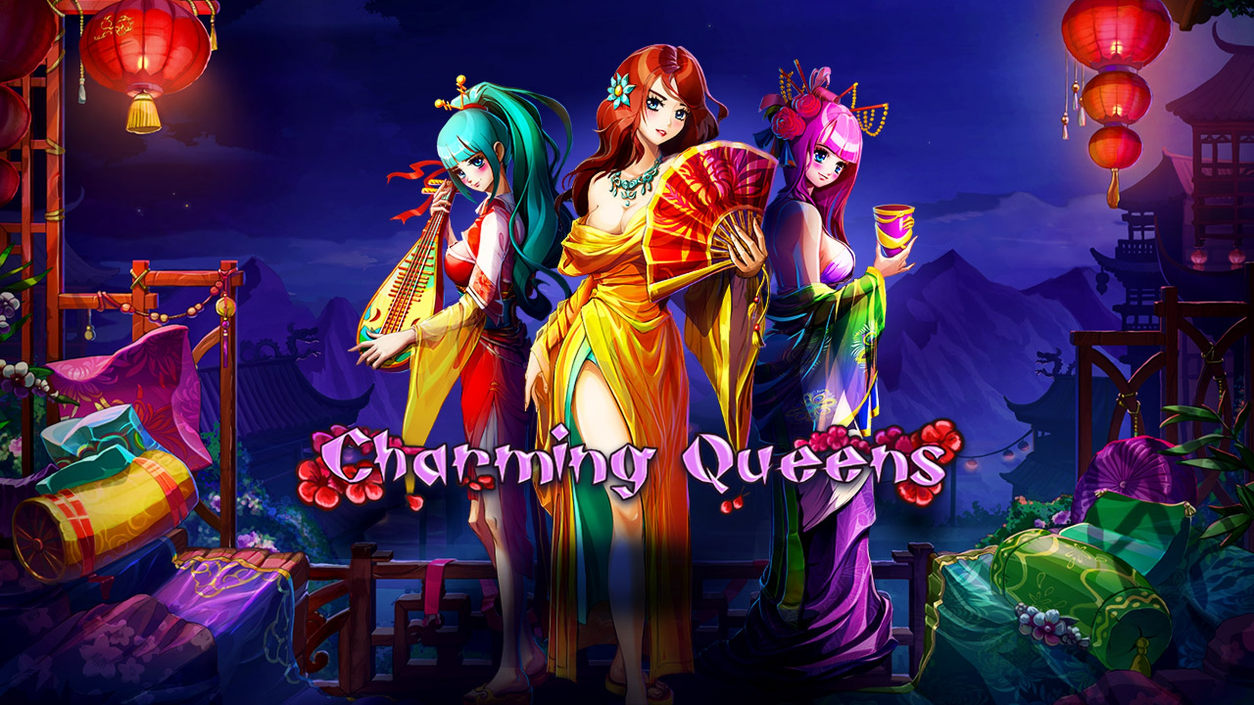 The Charming Queens Online Slot Demo Game by Evoplay Entertainment