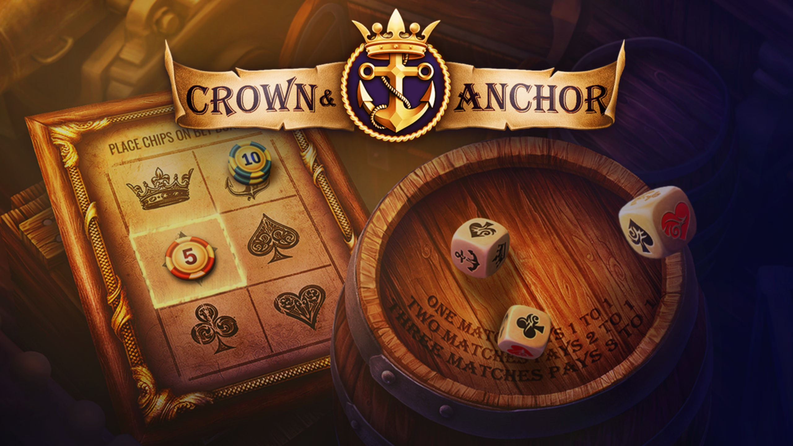 The Crown and Anchor (Evoplay) Online Slot Demo Game by Evoplay Entertainment