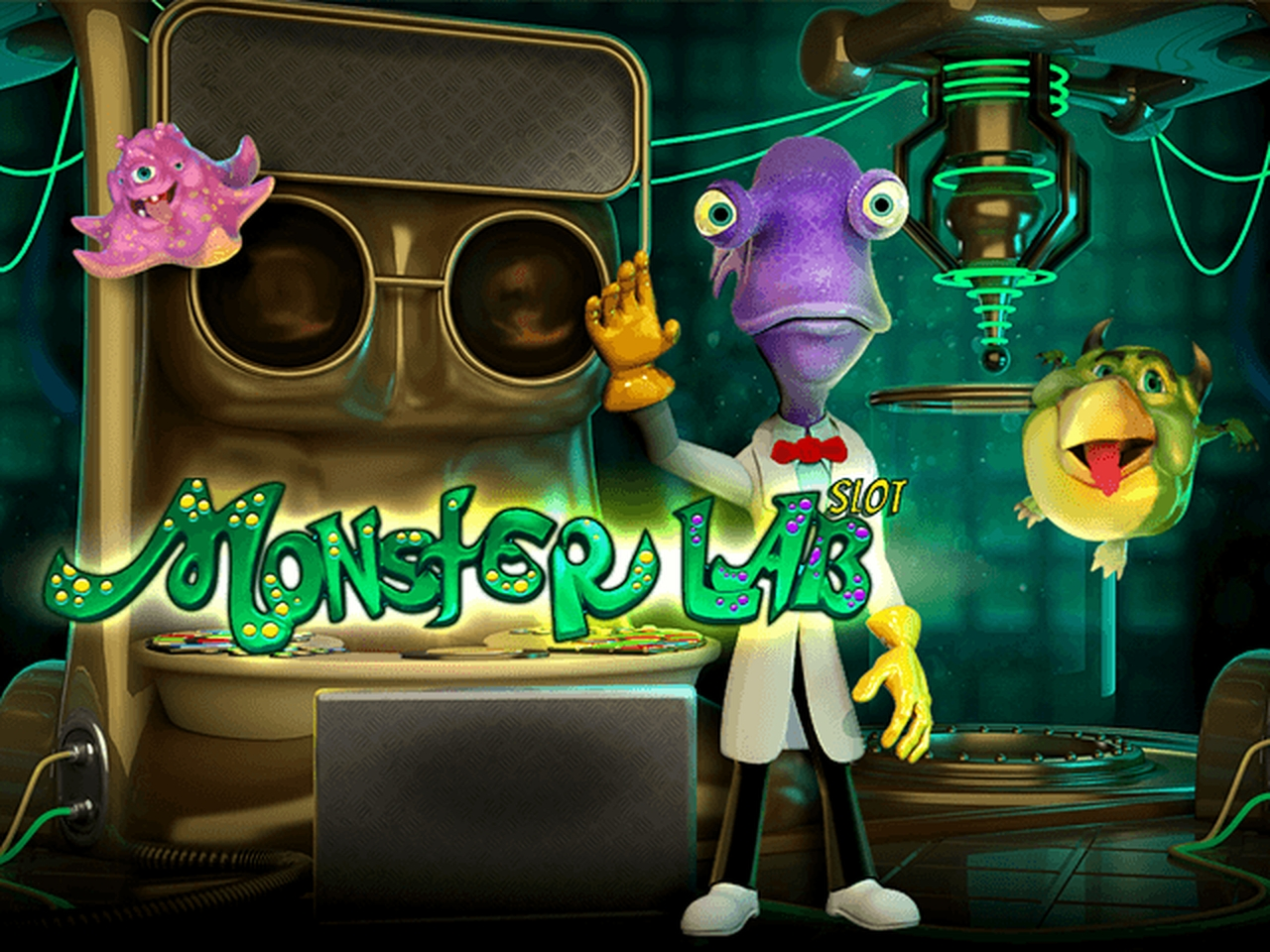 The Monster Lab Online Slot Demo Game by Evoplay Entertainment