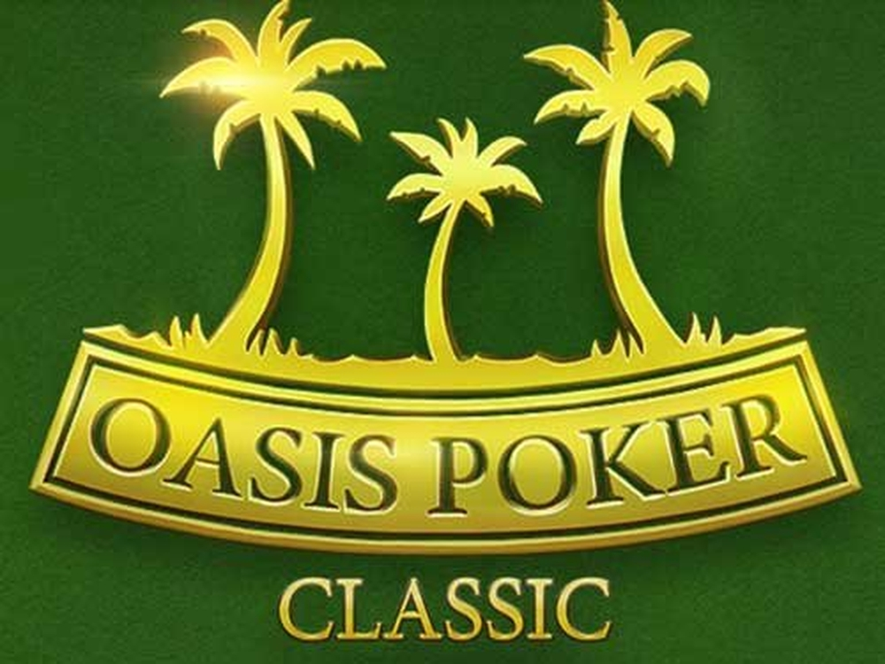 The Oasis Poker Classic Online Slot Demo Game by Evoplay Entertainment