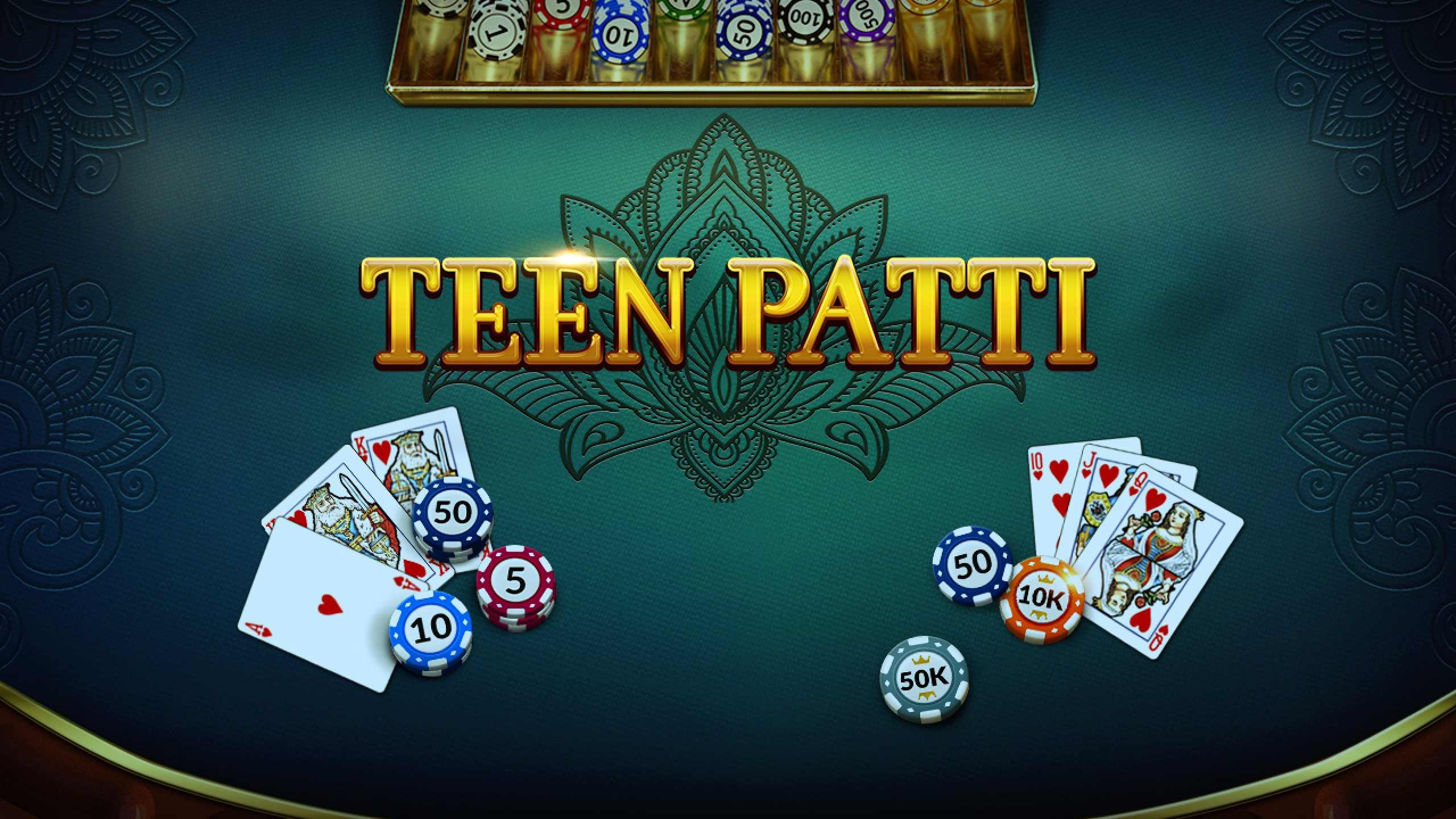 The Poker Teen Patti Online Slot Demo Game by Evoplay Entertainment