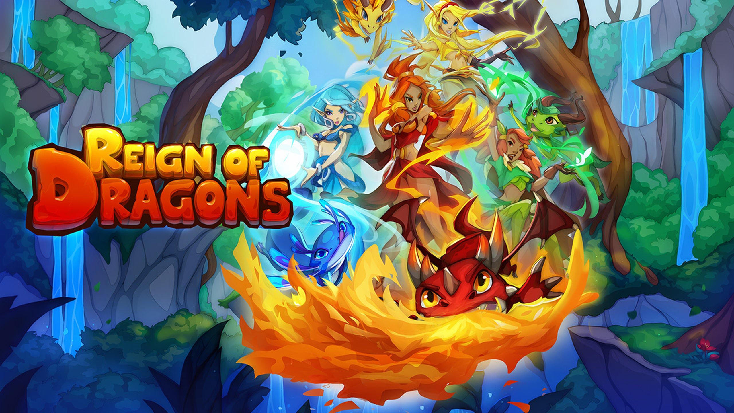 The Reign of Dragons Online Slot Demo Game by Evoplay Entertainment