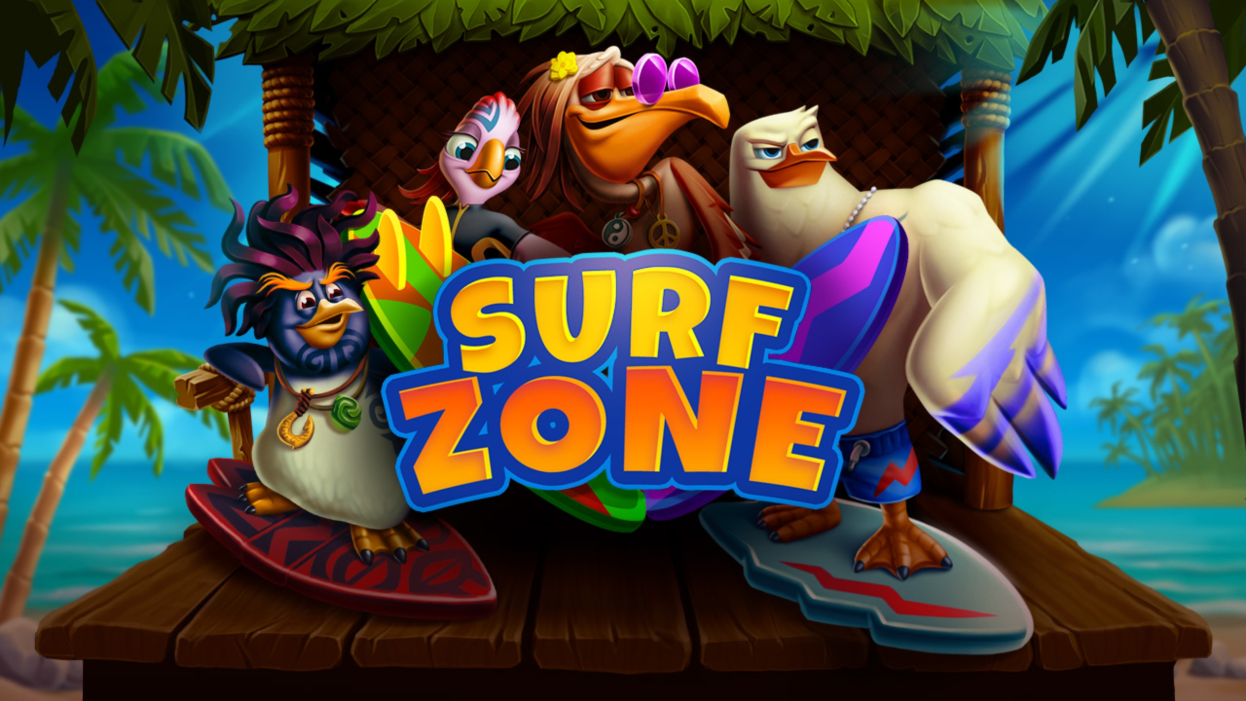 The Surf Zone Online Slot Demo Game by Evoplay Entertainment