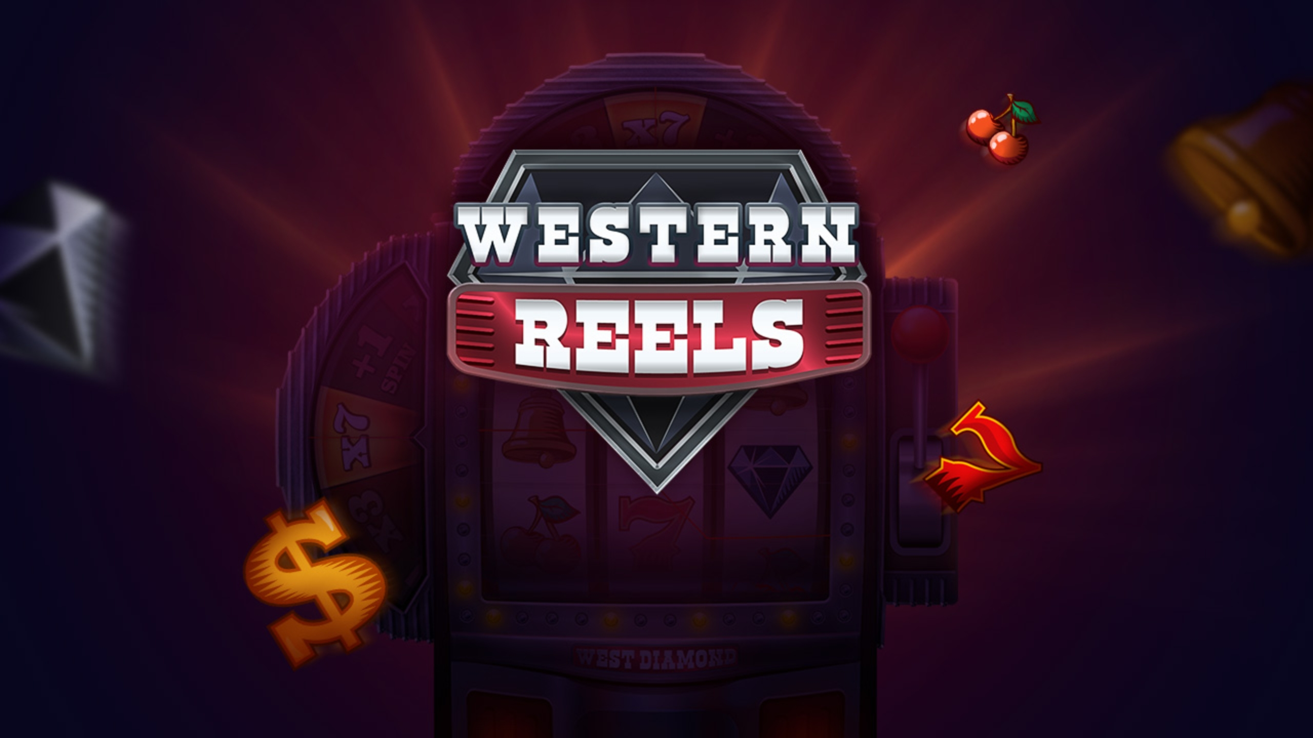 Reels in Western Reels Slot Game by Evoplay Entertainment