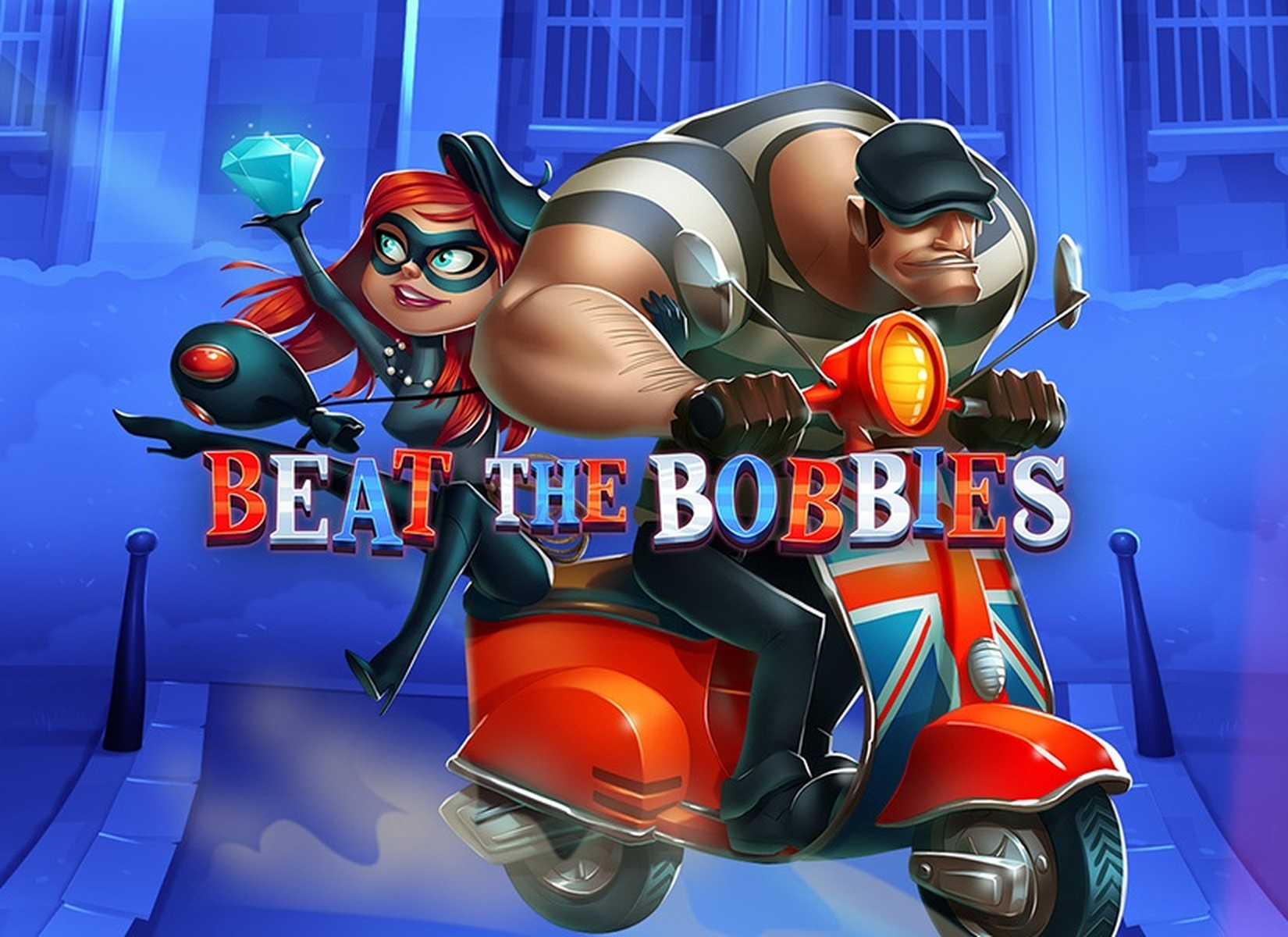 The Beat The Bobbies Online Slot Demo Game by EYECON