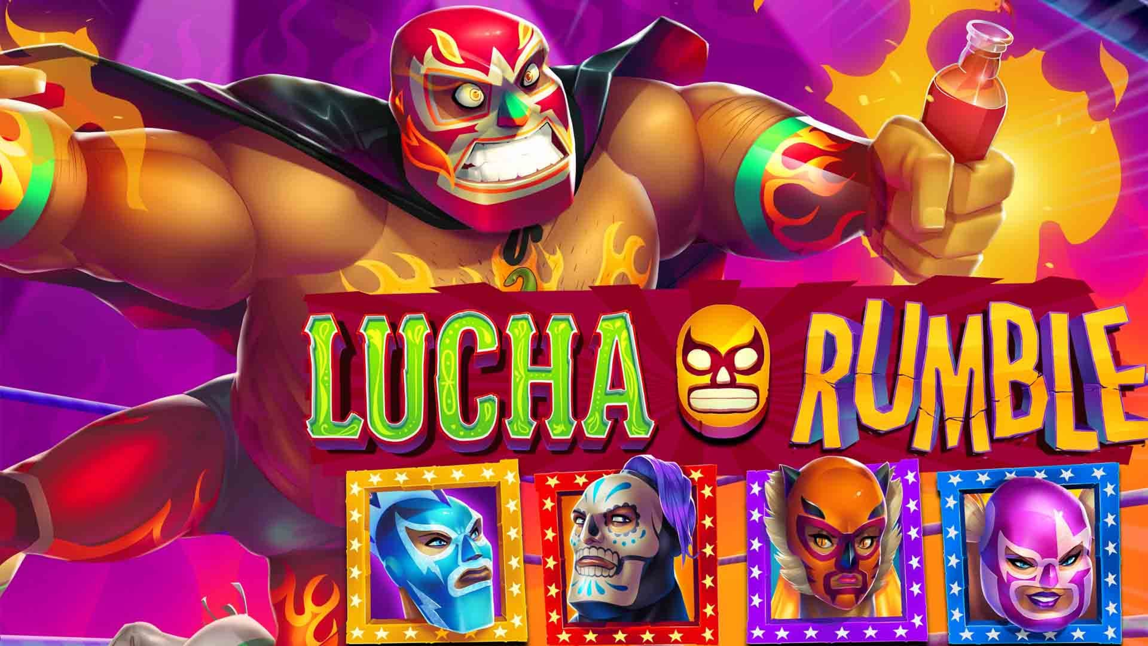 The Lucha Rumble Online Slot Demo Game by EYECON