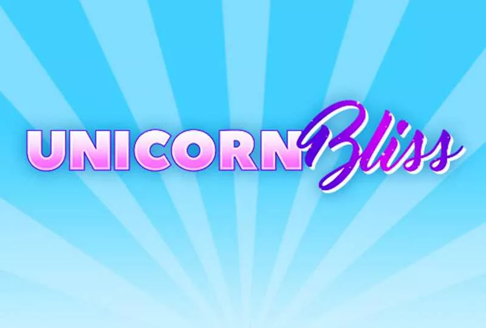 The Unicorn Bliss Online Slot Demo Game by EYECON