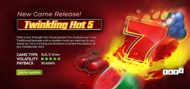 Win Money in Twinkling Hot 5 Free Slot Game by Fazi