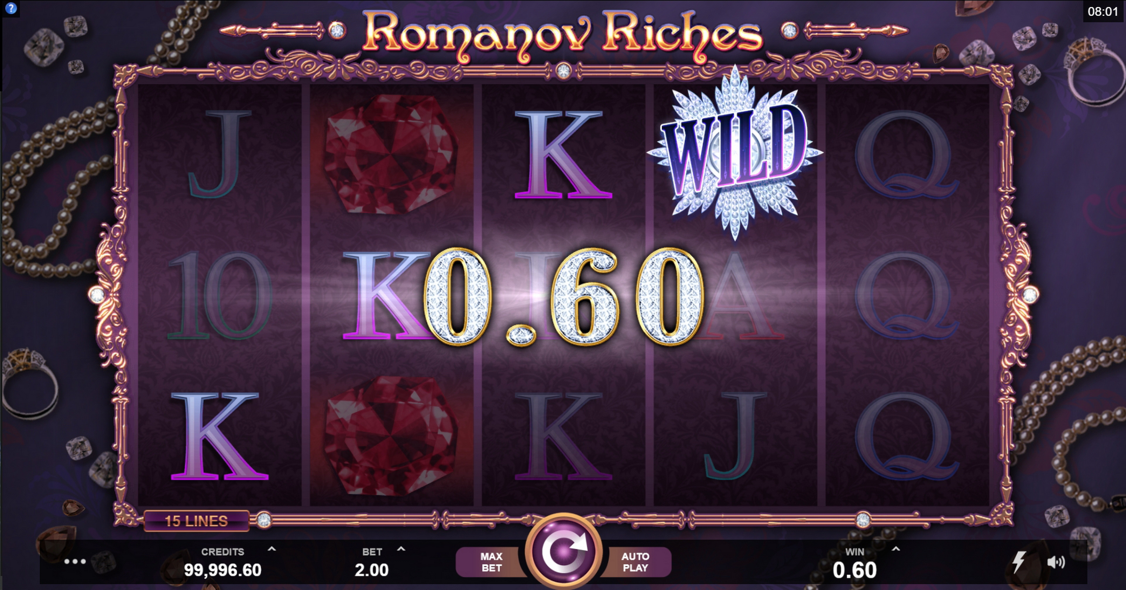 Win Money in Romanov Riches Free Slot Game by Fortune Factory Studios