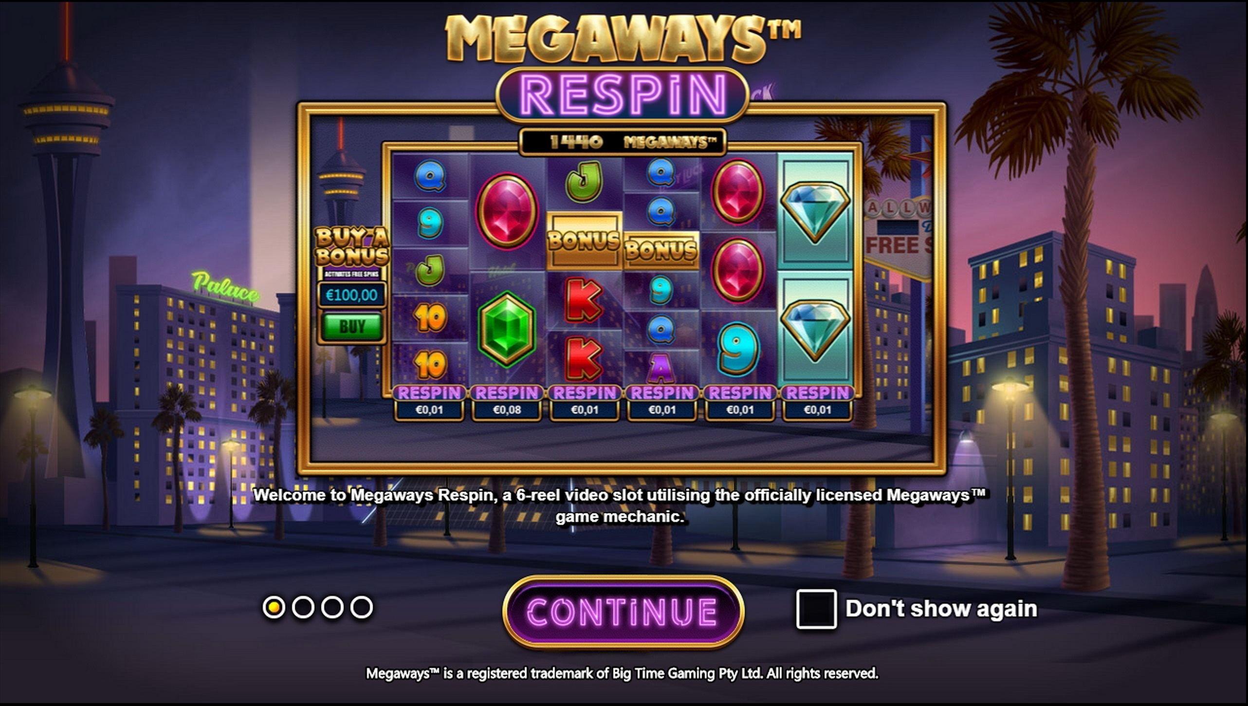 Play Megaways Respin Free Casino Slot Game by Games Inc
