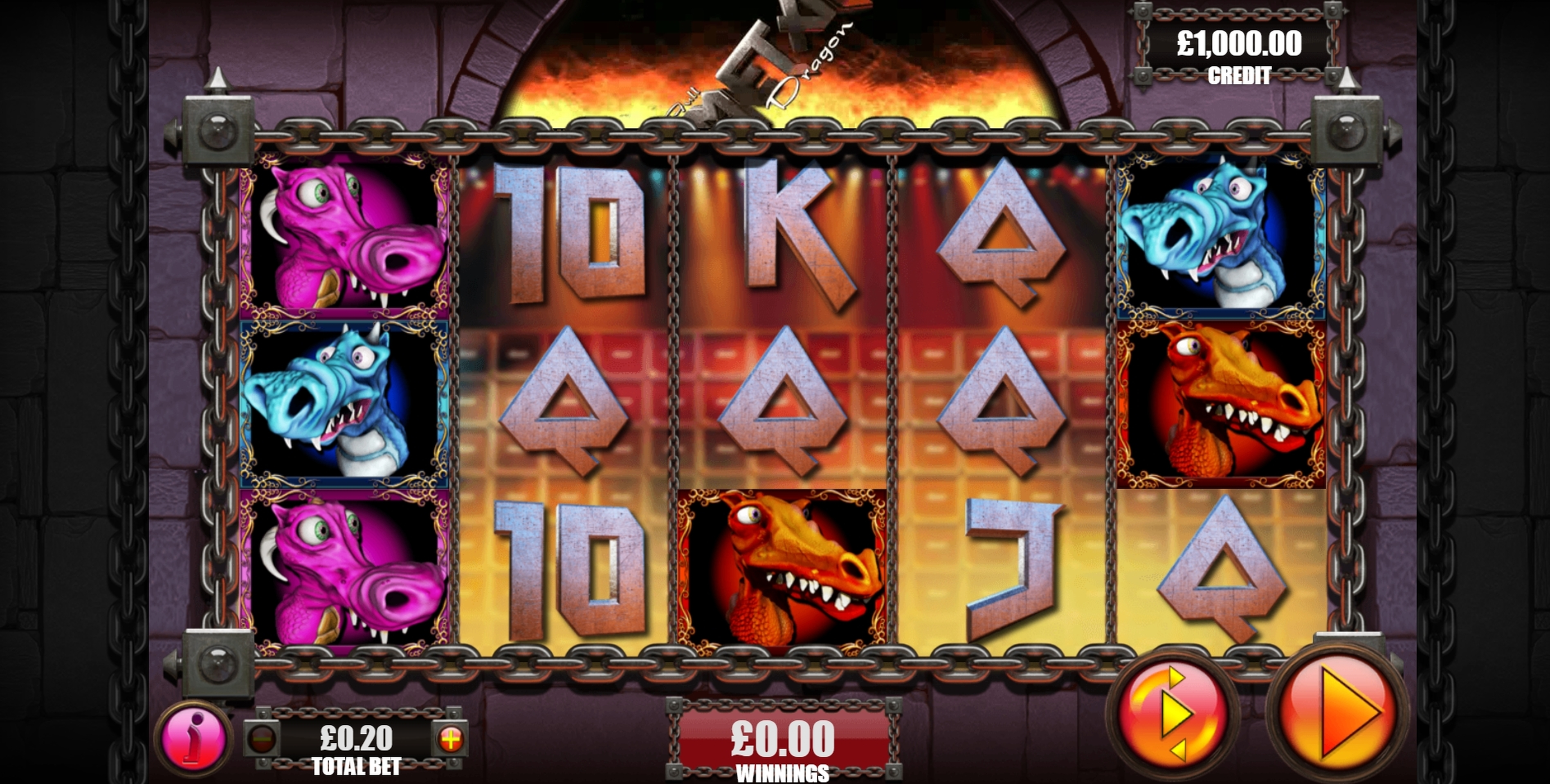 Reels in Full Metal Dragon Slot Game by Games Warehouse