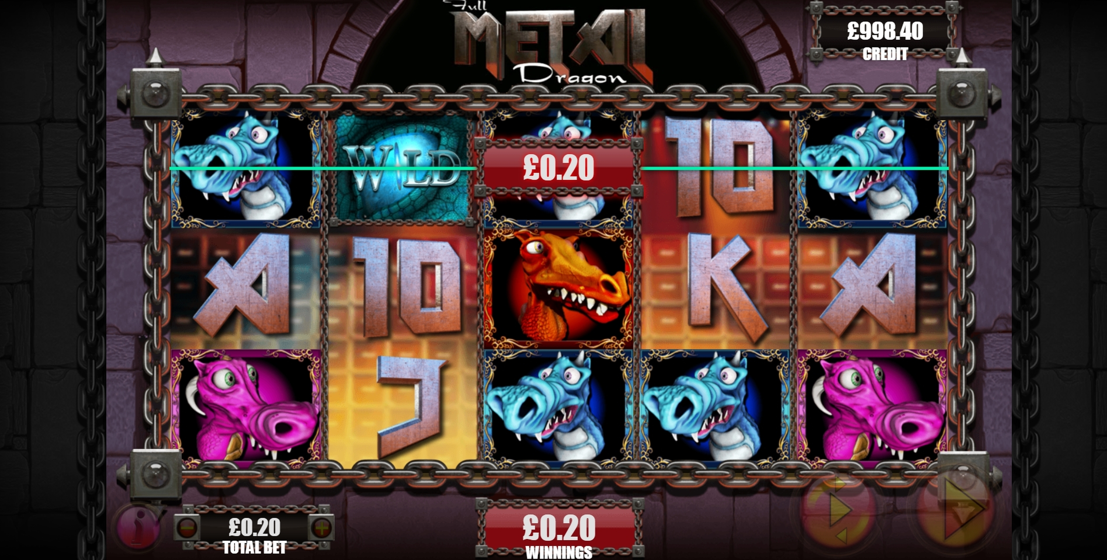 Win Money in Full Metal Dragon Free Slot Game by Games Warehouse