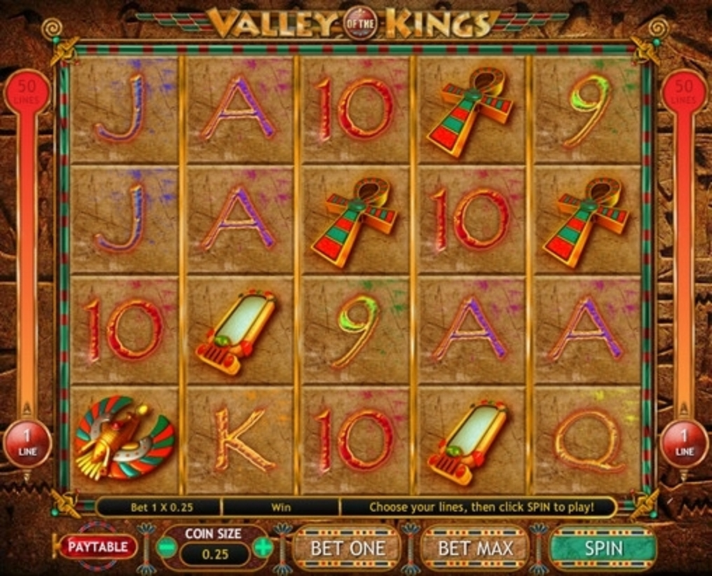 The Valley of the Kings Online Slot Demo Game by Gamesys