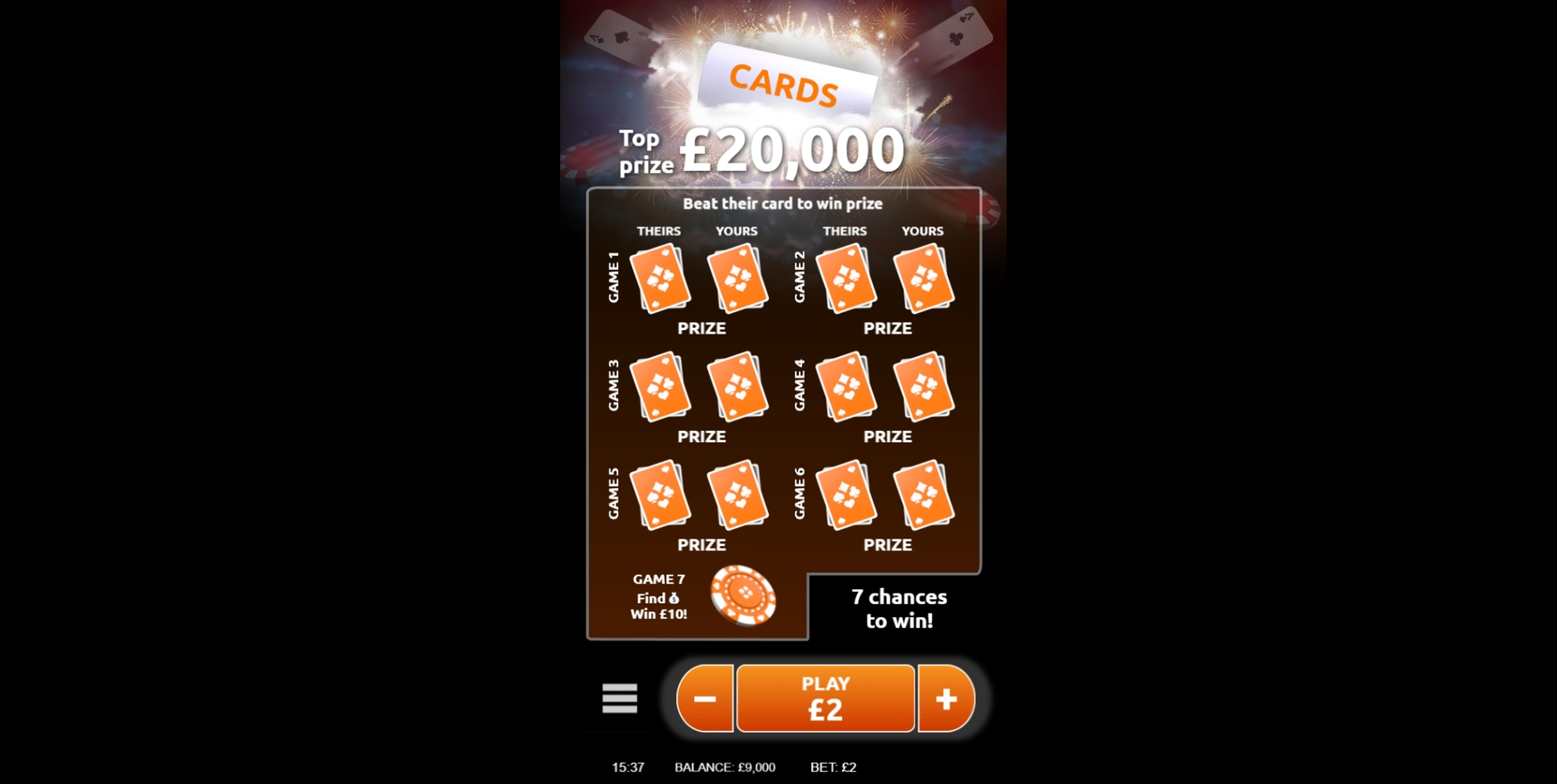 Reels in Casino Slot Game by Gamevy