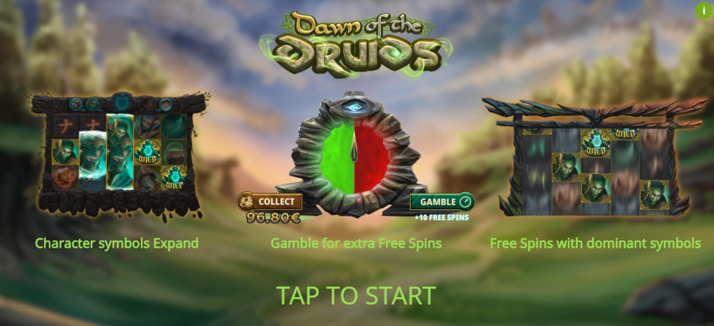 Play Dawn of the Druids Free Casino Slot Game by Ganapati
